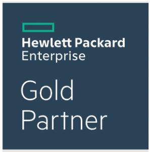 Hewlett Packard (HP) Enterprise Gold Partner