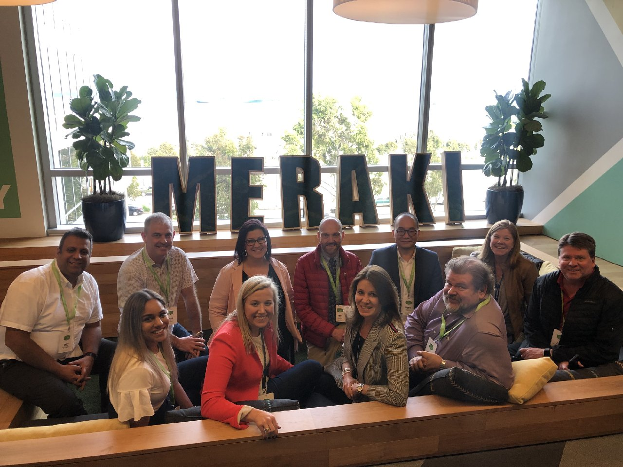 Cisco Meraki Tust X team visit
