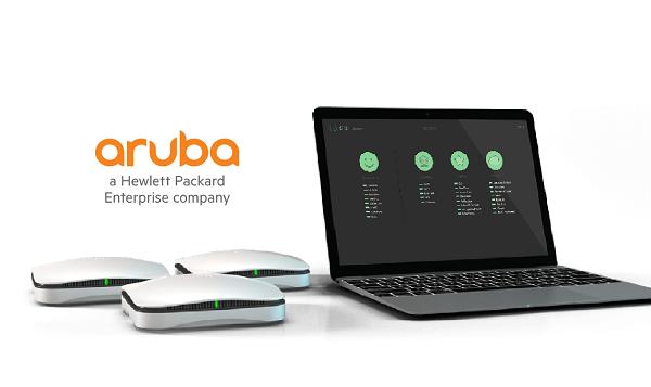 Aruba network traffic sensors
